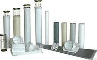 Фильтровальный рукав для (АБЗ БСУ) размер диаметр 14 см длинна 2.5 м