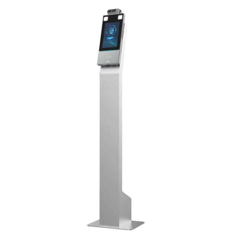 OET-213H-BTM32 терминал с распознаванием лиц и с измерением температуры