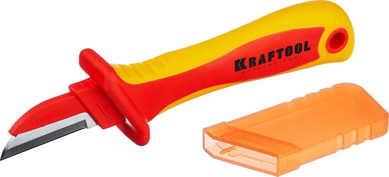 Нож диэлектрический KN-1, KRAFTOOL 200 мм, прямой (45401)