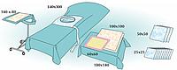 Комплект стерильный операционный одноразовый для операции кесарево сечение