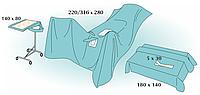 Комплект стерильный операционный одноразовый для проктологии Тип 1