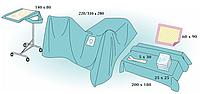 Комплект стерильный операционный одноразовый для проктологии Тип 2