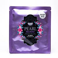 Koelf Гидрогелевая маска для лица с маслом ши и жемчужной пудрой Pearl Shea Butter Hydrogel Mask Pack (5шт.)