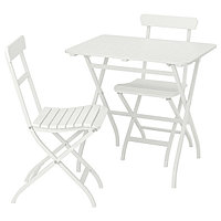 Стол+2стула,д/сада, белый МЭЛАРО, фото 1
