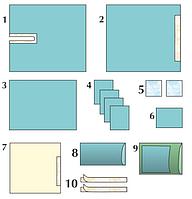 Комплект стерильный операционный одноразовый для операций на тазобедренном суставе (большой)