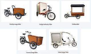 Грузовые велосипеды