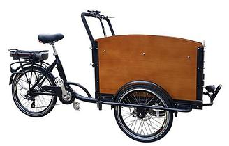 Грузовой велосипед M-CB01E (с электромотором)