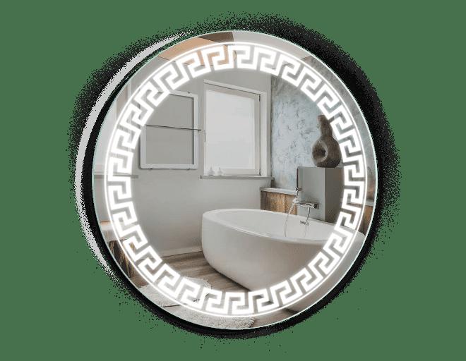 Зеркало круглое с LED-подсветкой 60*60 см