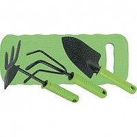 Набор садового инструмента, пластиковые рукоятки, 4 предмета, STANDARD// Palisad
