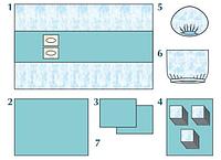 Комплект стерильный операционный одноразовый для радиочастотной катетерной абляции (РЧА)