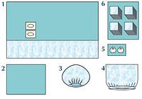 Комплект стерильный операционный одноразовый для ангиографии Тип 1