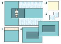 Комплект стерильный операционный одноразовый для ангиографии Тип 2