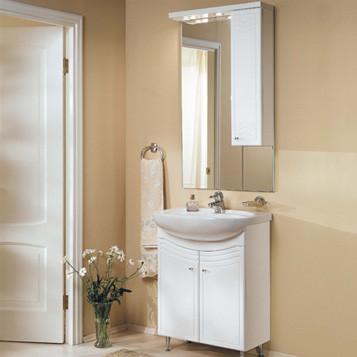 Зеркальный шкаф, ДОМУС, 95, левый - фото 2