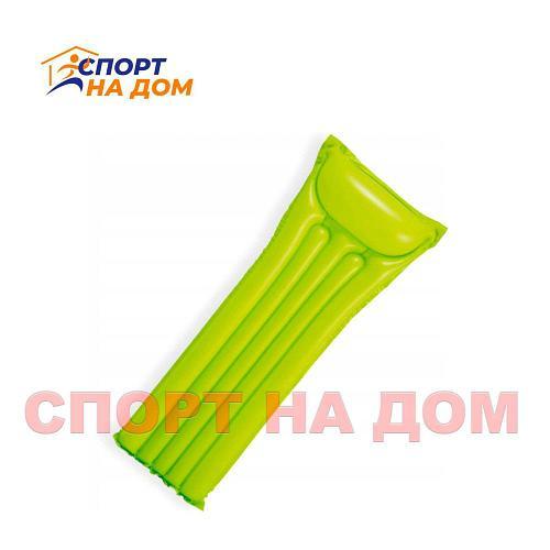 Глянцевый матрас Интекс 59703NP (салатовый)