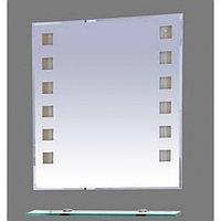 Эллада - 100 Зеркало с полочкой (свет)