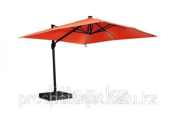 Зонт с подсветкой 3*3 квадратный Оранжевый