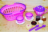 126A Набор чаепитие в корзинке Dream baskets 24*10см, фото 1