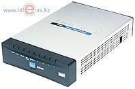 VPN роутеры Cisco RV042-EU VPN маршрутизатор Cisco RV042. WAN - 1 x 10/100 Мбит/с, 1 x 10/100 Мбит/с (DMZ);
