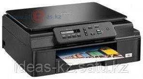 МФУ Brother Ink DCP-J100 цв. струйный, 6000х1200 т/д, 27 стр/мин, USB 2.0, 64 Мб, картр. LC-529BK,