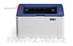 Монохромный принтер, Xerox, Phaser 3020BI, A4, Лазерный, 20 стр/мин, Нагрузка (max) 15K в месяц, 150 стр. -