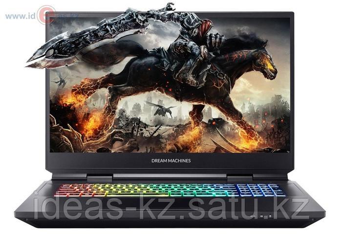 Игровой ноутбук Dream Machines RG2060-17XX04 (17.3'' FHD WVA 120Hz, i7-10750H, RTX2060 6GB, DDR4 16GB, HDD 1TB