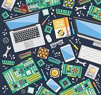 Мат.плата Asus Strix Z390-F Gaming, S1151,iZ390,3PCI-Ex16/3x1,4DDR-IV,6SATA,8ch,14USB/4x3.1,HDMI,ATX