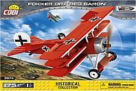 COBI: Истребитель FOKKER Красный Барон, 175 дет.
