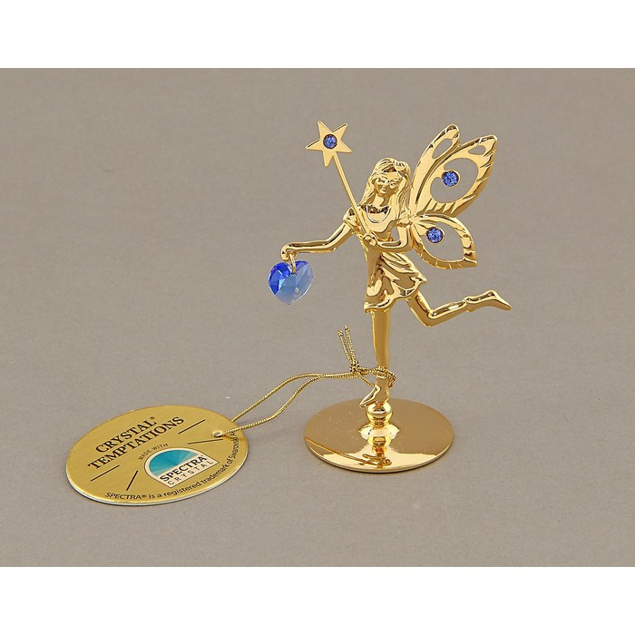 Сувенир «Фея со звездой», с кристаллами Сваровски