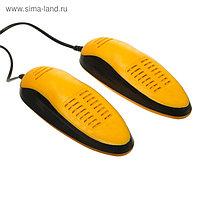 "Сушилка для обуви ""Старт"" SD03, 16 Вт, арома-пластик, керамика, оранжево-черная"