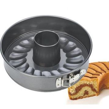 Раскладная форма Tescoma Delecia для запекания торта и кекса, нержавеющая сталь, 24 см