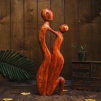 """Сувенир дерево """"Объятия"""" 50х20х5,5 см"""