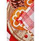 Скатерть рогожка DomoVita «Пряничный Домик» 110х150 см, фото 2