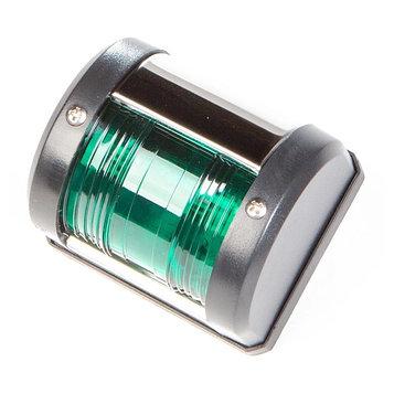 Огни ходовые Skipper 00111 накладные, пластик черный, 12V, цвет огня красный/зеленый