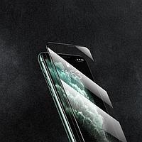 """Защитное стекло 9D LuazON для iPhone Xr/11 (6.1""""), полный клей, 0.33 мм, 9H"""