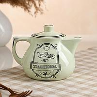 "Чайник для заварки ""Инжир"", ментол, чай, 450 мл"