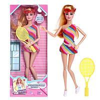 Кукла-модель шарнирная «Спортсменка» с аксессуарами