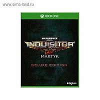 Игра для Xbox One Warhammer 40,000: Inquisitor - Martyr. Deluxe Edition