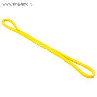 Фитнес-резинка, 30 х 0,64 х 0,5 см, нагрузка 20 кг, цвет жёлтый