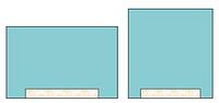Простыня с липким краем 40×180 см