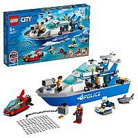 Lego 60277 Город Катер полицейского патруля