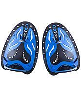 Лопатки для плавания B-Stroke Black/Blue, L 25Degrees