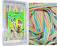 Damla Sour belt Rainbow raduga язычки Разноцветные (кислые) 1,2кг