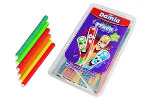 Damla Sour Pencil Палочки разноцветные в сахаре (кислые) 1,5кг