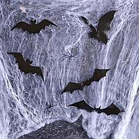 Карнавальный набор Хэллоуин паутина, фигурки летучие мыши