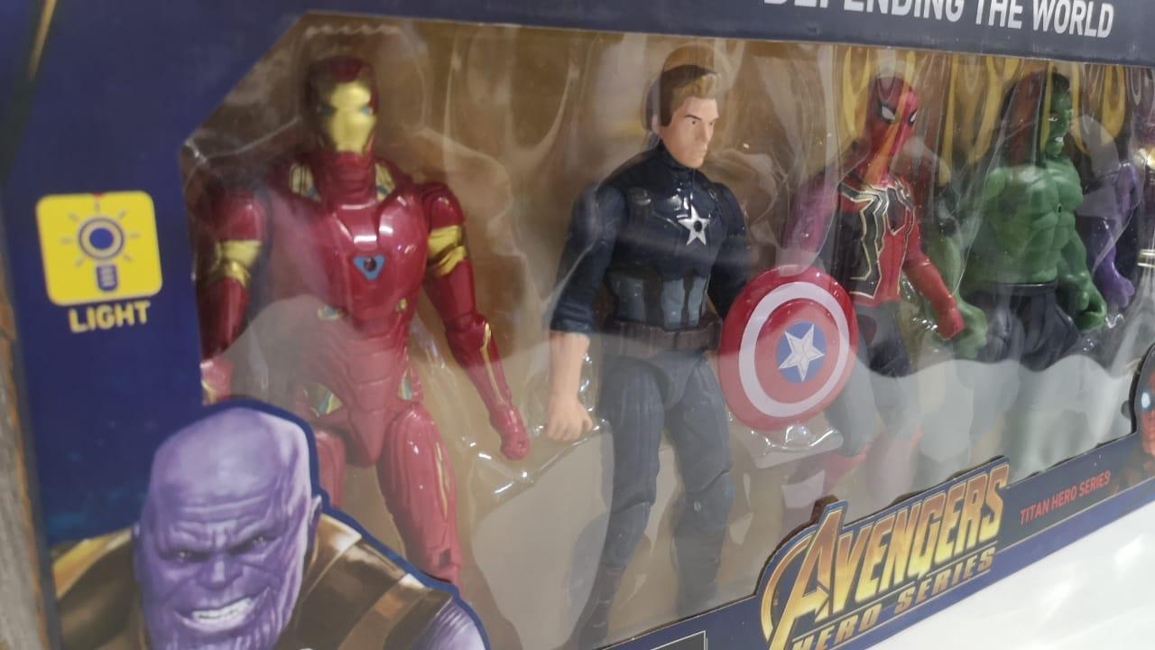Набор супергероев Марвел, 5 героев - фото 3