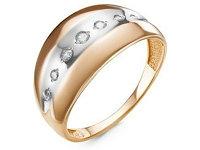 Кольцо (2,47, 21, Фианиты, Белое золото) 117357