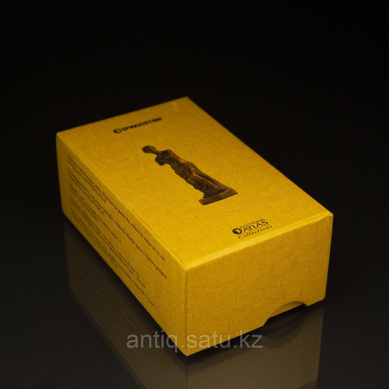 Коллекционная миниатюра «Венера Милосская». Бронза, литье Имеется сертификат. Франция. Конец ХХ века. - фото 2