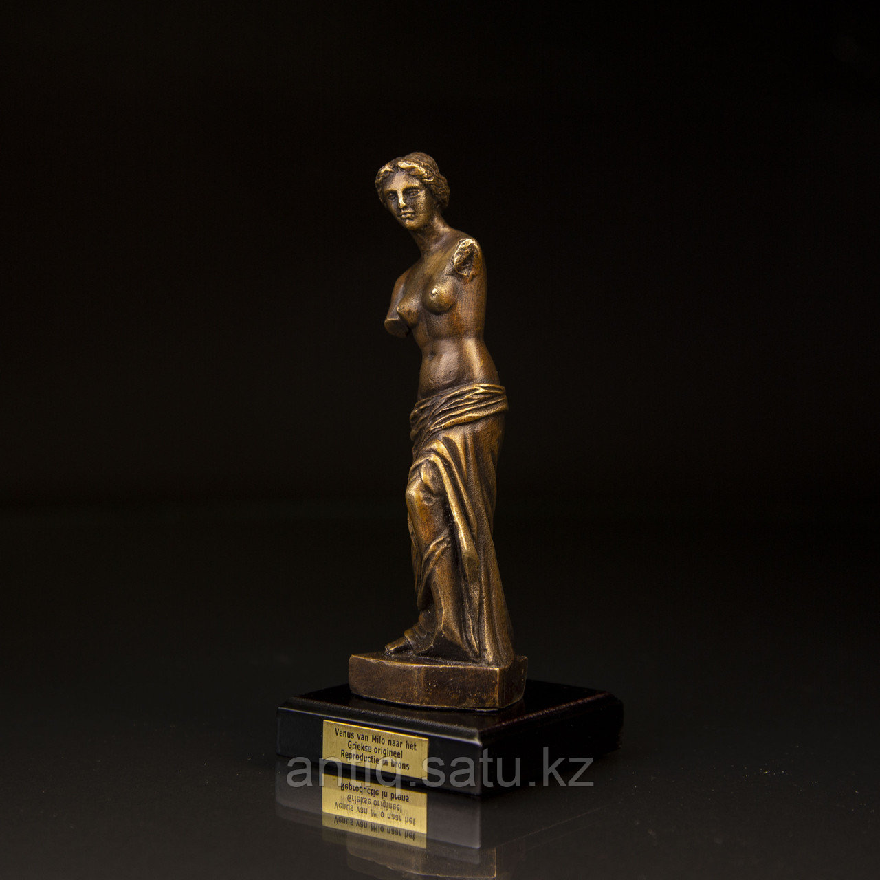 Коллекционная миниатюра «Венера Милосская». Бронза, литье Имеется сертификат. Франция. Конец ХХ века. - фото 4