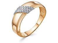 Кольцо URBAN (вес: 1,93гр., размер: 18,5, вставка: фианиты)