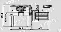 ШРУСы(граната) Honda HO-507 Odyssey RA5 3,0, Accord 'CA, CB 1997-1999 внутренний левый